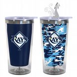 Tampa Bay Rays 16oz Travel Mug with Hot & Cold Colour Changing Graphics